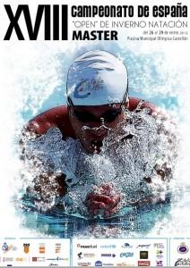 Cartel del campeonato de España de invierno master
