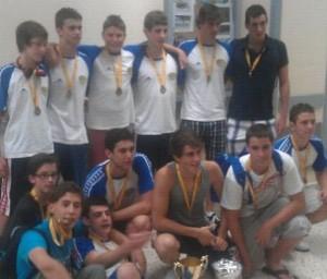 Equipo cadete del Concepción, junio 2012