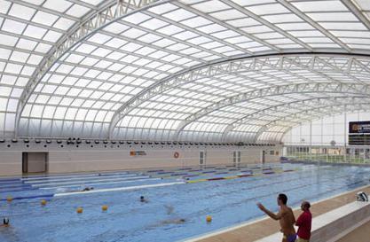 Cierre del parque deportivo ebro de zaragoza for Piscina cubierta zaragoza